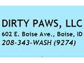 Dirty Paws, Boise - logo